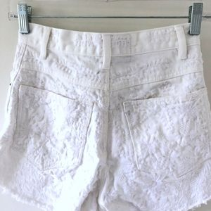 Free People Shorts - Embroidered FP Shorts